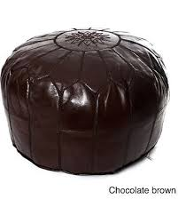Ottoman Morocco Check Out These Bargains On Handmade Moroccan Leather Pouf