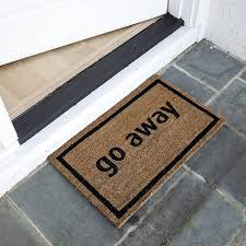 Come In And Go Away Doormat Gifts For Anyone Who Loves Staying At Home Brit Co