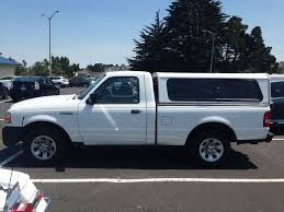 Ford Ranger With Truck Camper - for sale 2010 ford ranger with are camper shell 7500 sf bay