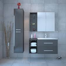 Bathroom Vanity Units Online Sonix Bathroom Furniture Vanity Suite Grey Buy Online At Bathroom City