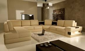 Neutral Wall Colors by Creamy Brown Sofa With Elegant Look For Living Room In Neutral