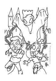 halloween ghosts coloring pages pixelpictart com
