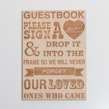 engravable guest book engraved guest book sign blacklist prints mackay qld