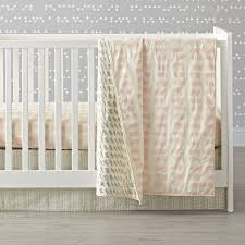 daily sketch pink crib bedding the land of nod