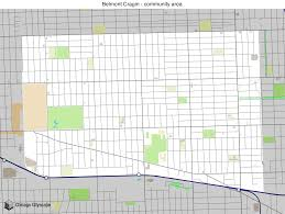 Map Of Chicago Area by Map Of Building Projects Properties And Businesses In Belmont