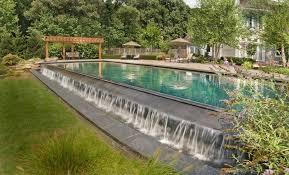 Aquascapes Pools Cool Infinity Edge Vogue Dc Metro Traditional Pool Inspiration