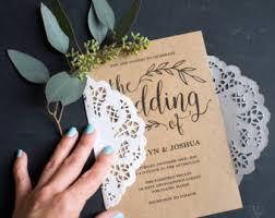Diy Wedding Invitation Wedding Invitations Nz