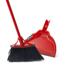 Best Broom For Laminate Floors O Cedar Dual Action Angler Indoor Broom With Dust Pan Walmart Com