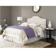 white curve tufted king size bed headboard dimensions in grey wall