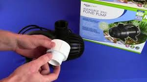 Aquascape Pond Pumps Replacement Pond Pumps For Aquascape Sfa 3000 Youtube