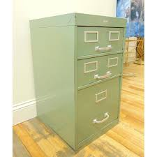 Industrial File Cabinet Cole Industrial Light Green Metal File Cabinet Chairish