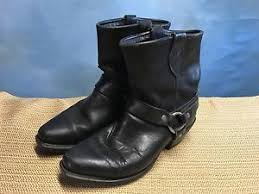 womens leather motorcycle boots canada black leather motorcycle biker work boots size 6 5m s