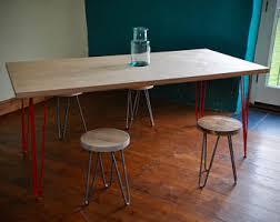industrial hairpin leg desk dining table bench industrial hairpin steel legs custom