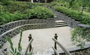 Patio Retaining Wall Pictures Anchor Diamond Pro Retaining Wall Beveled