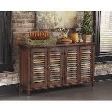 mestler dining room server wood dark brown signature design by