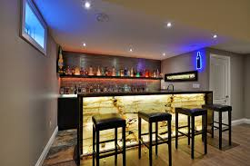 Under Stair Bar by Custom Bar By Wilde North Interiors Toronto Canada Wilde North