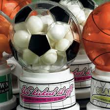 Soccer Theme Party Decorations Soccer Theme Miniature Sports Gumball Machine Weddingstar