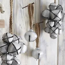 roost home decor jingle bell ornaments by roost spark living online boutique