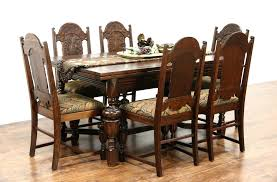 solid oak dining table and 6 chairs contemporary oak dining set oak dining chairs beautiful sold antique