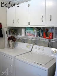 Organizing Cabinets by Backyards Laundry Room Organization Ask Anna