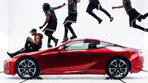 lexus lc mark ronson lexus debuts lc 500 super bowl ad with amazing movements