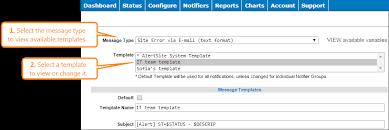 alert templates alertsite documentation