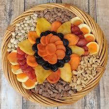 fruit and nut baskets premium fruit nut basket 64 oz dried fruit nut baskets