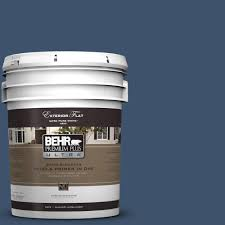 Home Depot Behr Stain by Behr Premium Plus Ultra 5 Gal T17 17 Midnight Show Flat Exterior