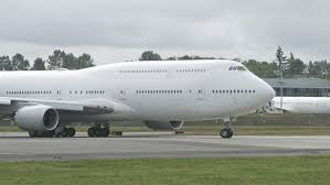 first airplane ever made ex transaero now usaf 747 8i first flight at paine field youtube