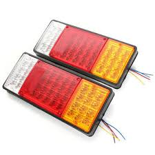 trailer tail lights for sale 2x 44 leds indicator tail light ute boat trailer truck waterproof