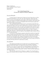 How To Write A Proposal Essay Example Proposal Essays Cover Letter Examples Of Proposal Essays Sample Of