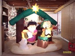 peanuts airblown inflatables gemmy christmas airblown peanuts nativity