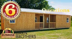 Mini Barns Michigan Barn Brothers Sunrise Structures Benton Harbor Michigan
