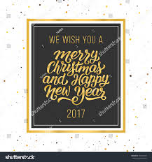 we wish you merry happy stock vector 536945248