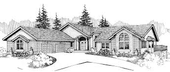 house plans with daylight basement house plans side entry garage house plans with shop