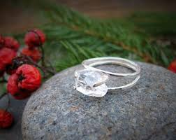 non traditional wedding rings non traditional ring etsy