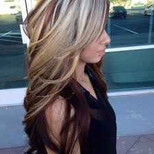 blonde and burgundy hairstyles pictures burgundy with blonde highlights women black hairstyle