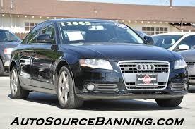 2009 audi quattro 2009 audi a4 awd 2 0t quattro premium 4dr sedan 6a in banning ca