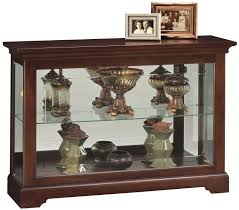 Images Of Curio Cabinets Short Curio Cabinet With 1 Glass Shelf By Howard Miller Wolf And