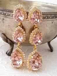 Long Chandelier Earrings Dangle Earrings Emerald Chandelier Earring 14 K Plated Gold Earrings By Iloniti