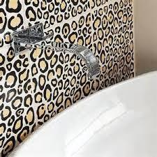leopard print bathroom decoration tsc