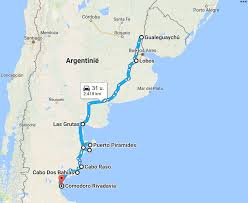 Bariloche Argentina Map Argentina U2013 Overlanding Along The East Coast Rn3 Global