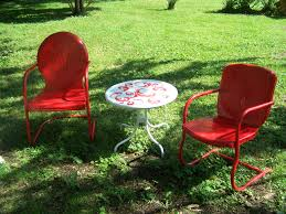retro outdoor chair