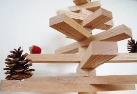 make your own scandinavian style wooden tree