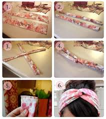 bando headbands step by step hairband from t shirt 3r ideas