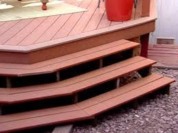 building a deck using composite wood video hgtv