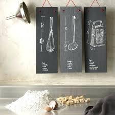 decoration murale pour cuisine deco murale pour cuisine plaque dacco murale en ardoise pour la