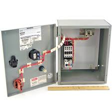 siemens overload relay control reset starter enclosure 2hp 230v 3