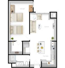 St Thomas Suites Floor Plan by Floor Plans