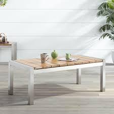 Grade A Teak Patio Furniture by Macon Teak Outdoor Coffee Table Natural Teak Outdoor